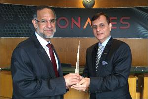 New Indian Ambassador visits Conares plant in JAFZA, Dubai