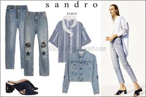 Sandro Spring/Summer17 January Highlights