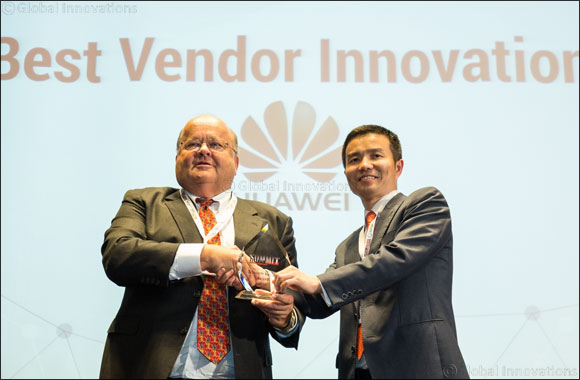 "Huawei participates at the Middle East's most prestigious telecom event and wins ""Best Vendor Innovation"" award for 2016"