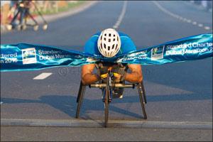 Wheelchair Athletes Set for Battle Royal at Standard Chartered Dubai Marathon