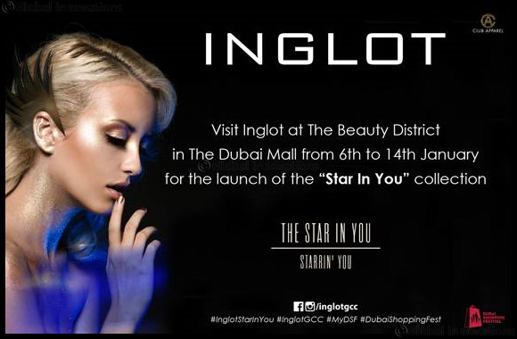 "Inglot launches ""Star In You"" collection at the Beauty District!"