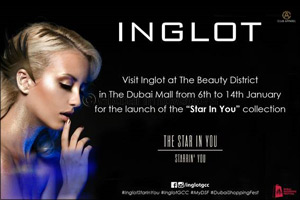 """Inglot launches """"Star In You"""" collection at the Beauty District!"""