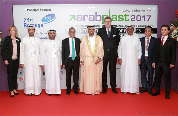 ArabPlast 2017 opens today (Sunday, 8 January) with increase in overall display area reaching 12 percent