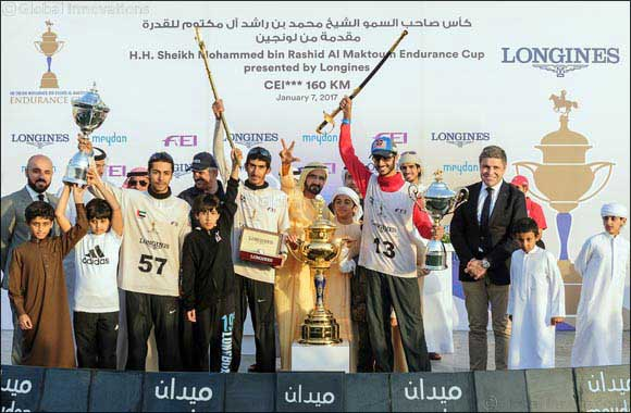 Longines Presents Another Successful Edition of the HH Sheikh Mohammed Bin Rashid Al Maktoum Endurance Cup.