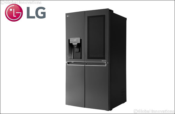LG Smart InstaView Refrigerator Features Voice Control, WebOS and Remote Viewing Capabilities