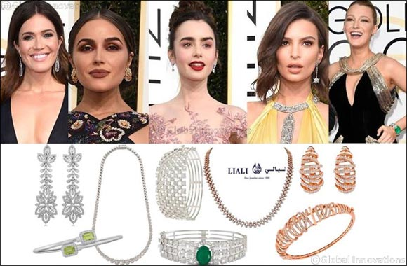 Golden Globes Jewellery at Liali