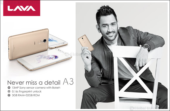 LAVA International Launches power-packed LAVA A3 Smartphone in MENA