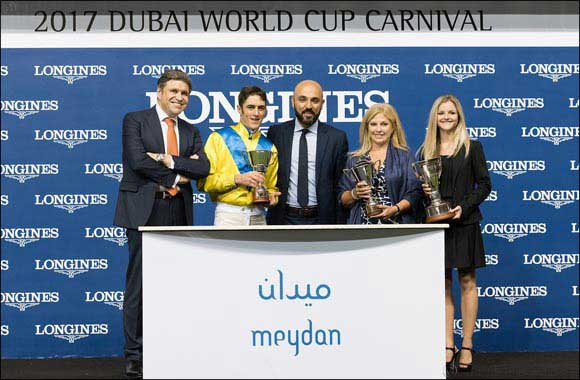Longines timed the Dubai World Cup Carnival races at Meydan Racecourse