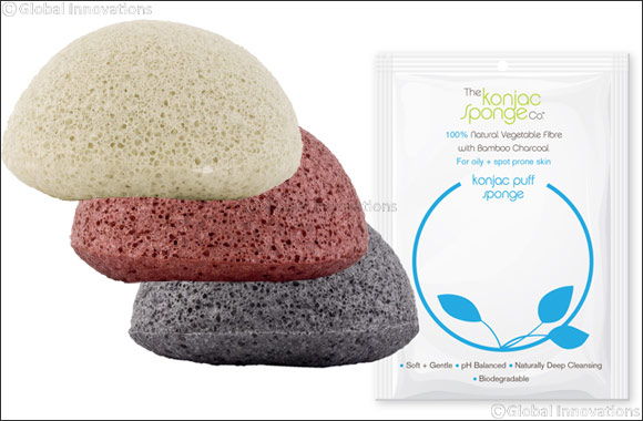 Renew the look and feel of your skin with The Facial Sponges from Konjac Sponge Company