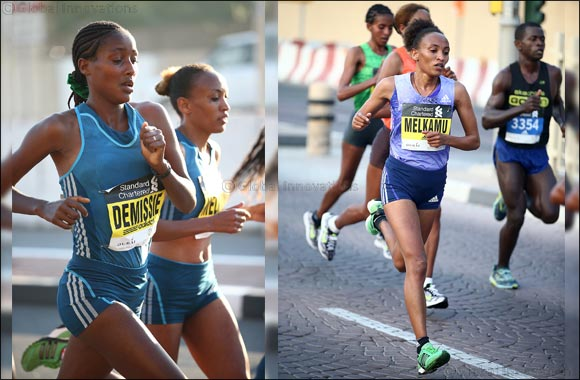 Demise, Melkamu Lead Strong Women's Field for Standard Chartered Dubai Marathon