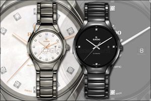 The Rado True for him and her on Valentine's Day - A watch to love for a lifetime
