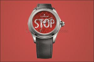 Corum Bubble says STOP!