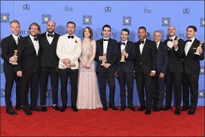 """Jaeger-LeCoultre congratulates  """"La La Land"""" director Damien Chazelle for winning 7 Golden ..."""