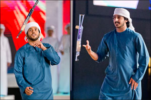 Yuweel performers warm hearts on cold and windy night in AED 1 million Fazza Championship for Youlla ...