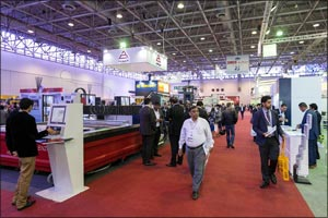 SteelFab Middle East 2017 opens its doors today (Monday)