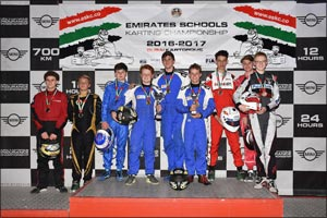 JESS Arabian Ranches Wins Senior ESKC Round Three