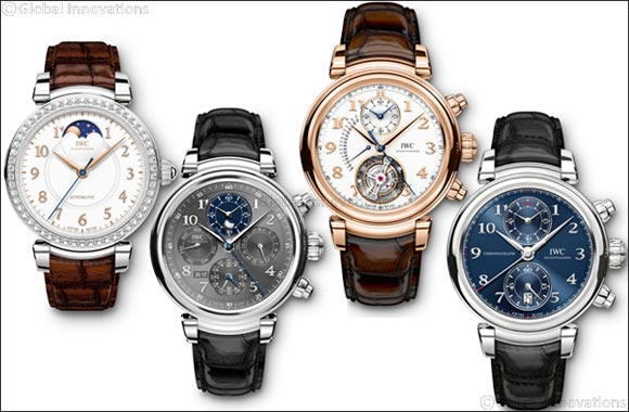 2017 Da Vinci Collection: Creating Pure Beauty from IWC Schaffhausen