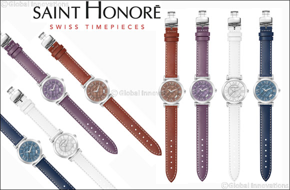 SAINT HONORE Opéra timepiece makes an extraordinary Valentine's Day gift