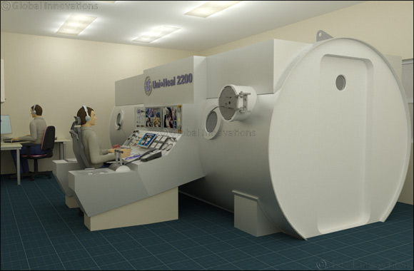 Unique Group brings expertise in hyperbaric oxygen treatment chambers to new healthcare markets