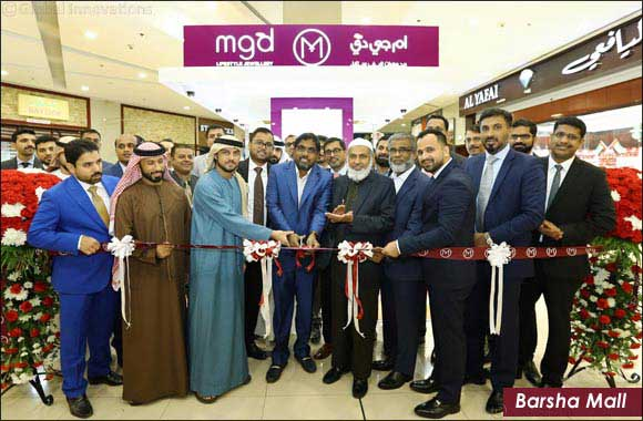 Expansion by leading Gold & Jewellery Group helps the Gold & Jewellery sector to reach out to more customers at Dubai Shopping Festival