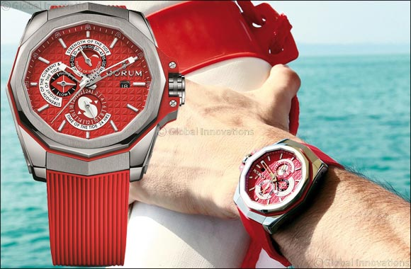 Corum Admiral's Cup AC-One 45 Tides makes an ideal gift for the man who loves to take on the sea