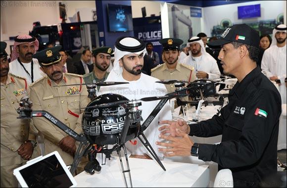 His Highness Sheikh Mansoor bin Mohammed bin Rashid Al Maktoum opens Intersec 2017