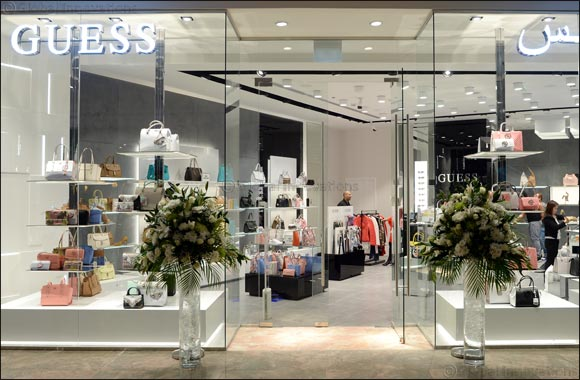 GUESS Opens 18th New Store in Dubai, UAE at The All New BurJuman