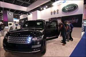 AED 1.5 million Range Rover Sentinel armoured vehicle wows the crowds at Intersec Dubai