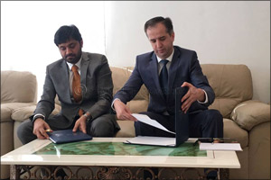 Skyline University College (SUC) Signed an MOU with the Consulate General of Republic of Tajikistan