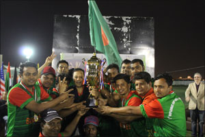 Consulate of Bangladesh won the 1st Diplomat Cricket Cup 2017