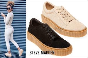 Steve Madden's HOLLLLY sneakers