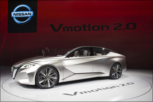 Nissan Vmotion 2.0 Wins EyesOn Design Award for Best Concept Vehicle at North American International ...