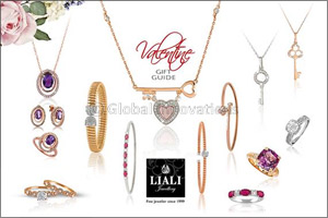 Valentine's Day gift guide with Liali jewellery