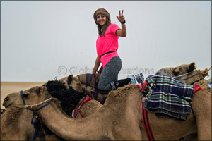 �Camel Trek' riders heading to Dubai after marathon expedition in the desert of the UAE