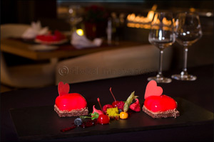 Take your love to new heights this Valentine's Day at Pullman Dubai Jumeirah Lakes Towers