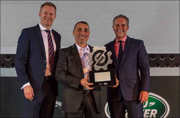 Jaguar Land Rover MENA Technician and Service Advisor of the Year 2016 Demonstrate First-Class Customer Service