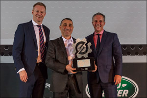 Jaguar Land Rover MENA Technician and Service Advisor of the Year 2016 Demonstrate First-Class Custo ...