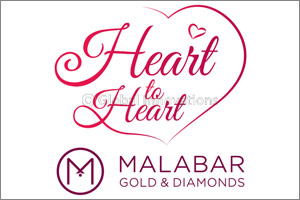 Malabar Gold & Diamonds unveils �Heart to Heart'jewellery collection to celebrate the season of love