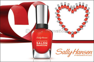 Sally Hansen � �New Flame�, The Color of Love