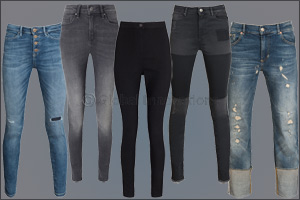 The Denim Edit: GUESS Jeans and F&F