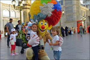 Little Guests of Global Village to Enjoy 20 days of Special Activities at �Kids Fest'