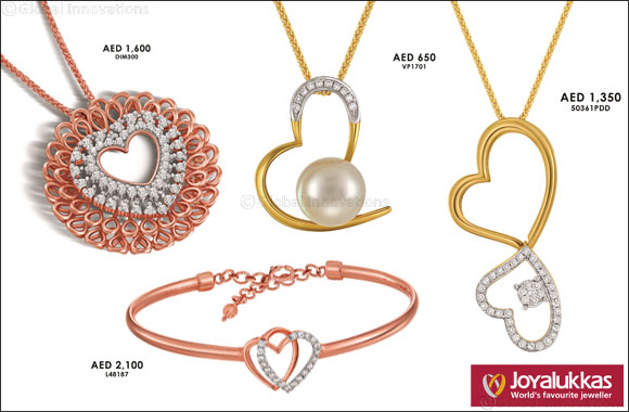 Joyalukkas delights patrons with amazing gifts and a limited edition collection for Valentine's Day