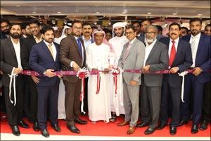 Malabar Gold & Diamonds' launched its new showroom at Grand Hyper, Sonapur, Dubai