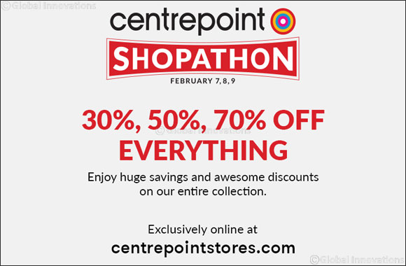 Centrepoint Launches Online Shopathon Event