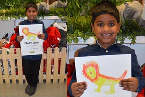Seven-year Old Dubai Boy Wins Global IKEA Drawing Competition