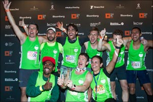 MustaNGroup Wins Bloomberg Square Mile Relay at the Dubai International Financial Centre
