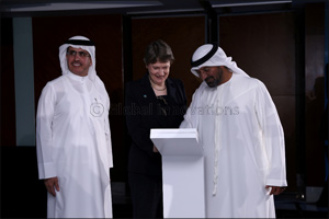 Sheikh Ahmed bin Saeed Al Maktoum Launched the �Private Sector Platform' of World Green Economy Orga ...