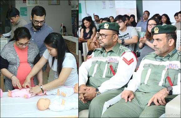 Aster Nurture introduces parents to Baby Safety training via Aster S.H.I.E.L.D Initiative