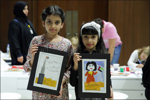 Dubai Culture Hosts a Series of Stamp Design Workshops for Children and Families