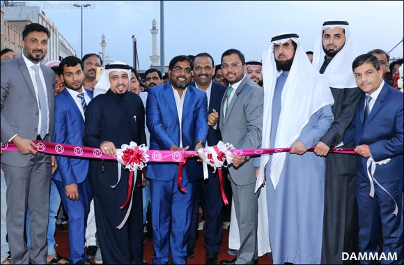Malabar Gold & Diamonds' opened its 11th showroom in Saudi Arabia at Jubail & Re-Opened in Dammam on same day
